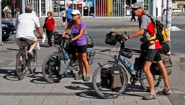 biciklisti turisti