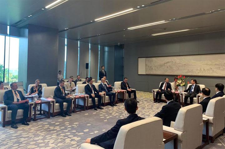 Sa sajma investicija u Kini/Pokrajinska vlada