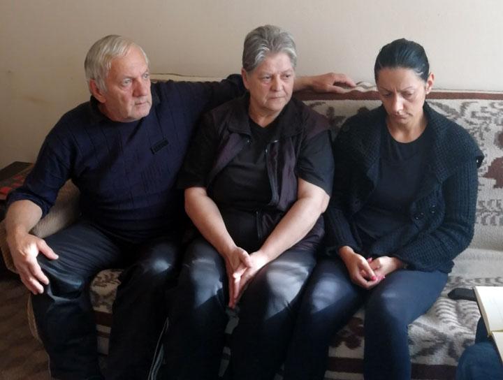 Deda Nandor, baka Margita i majka Anita Nemet/Mitrović