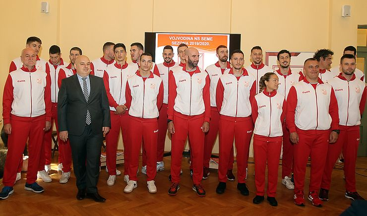 OK Vojvodina NS seme predstavio tim za narednu sezonu Foto: F. Bakić