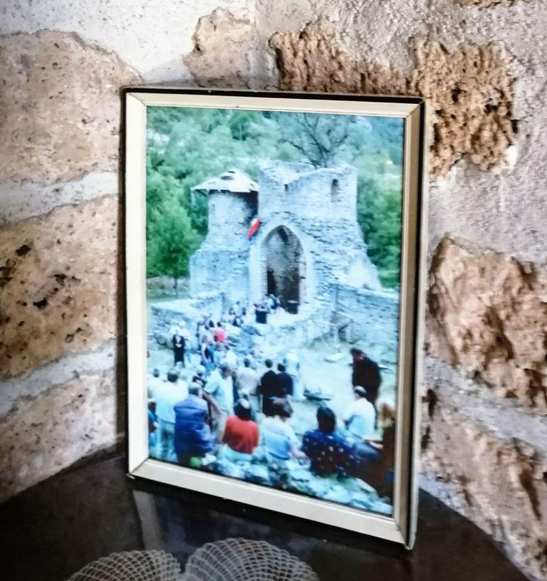 slika manastira pre obnove