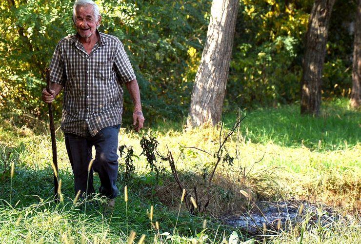 Ferenc Vrečić vredan i u 75. godini Foto: Vanja Fifa
