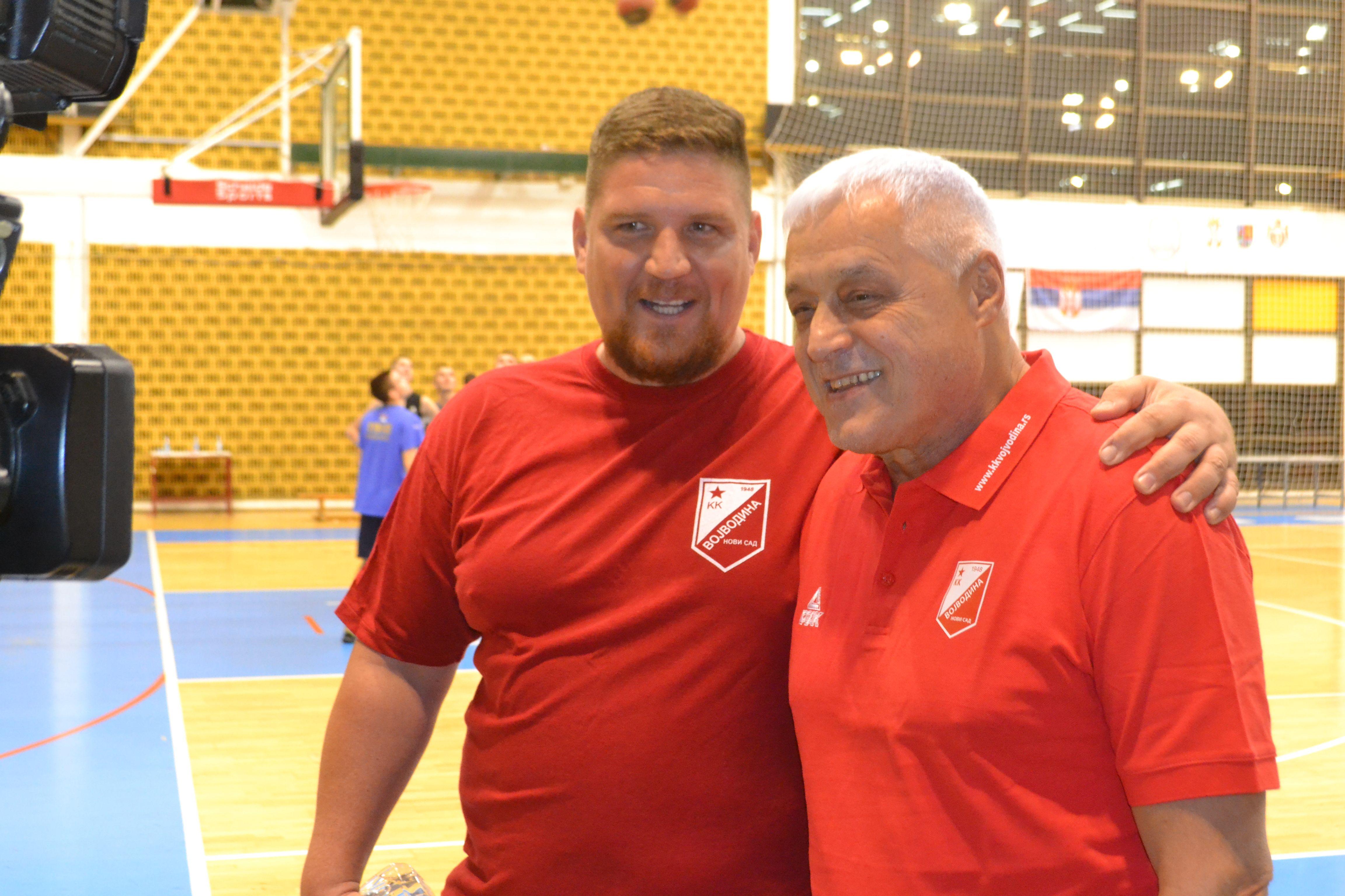 KK Vojvodina trener Nikolic 2