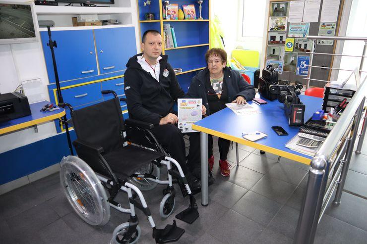 Prilikom uručenja novog pomagala Foto: R. Hadžić