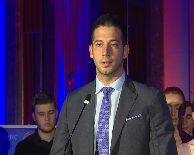 Ministar omladine i sporta Vanja Udovičić Foto: Tanjug/video