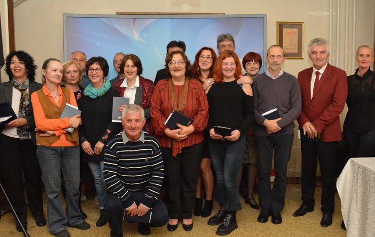 Nagrađeni jubilarci Foto: V. Fifa