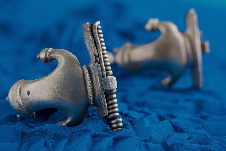 Srebrne rimske fibule – Beška, 4. vek Foto: Muzej Vojvodine u Novom Sadu
