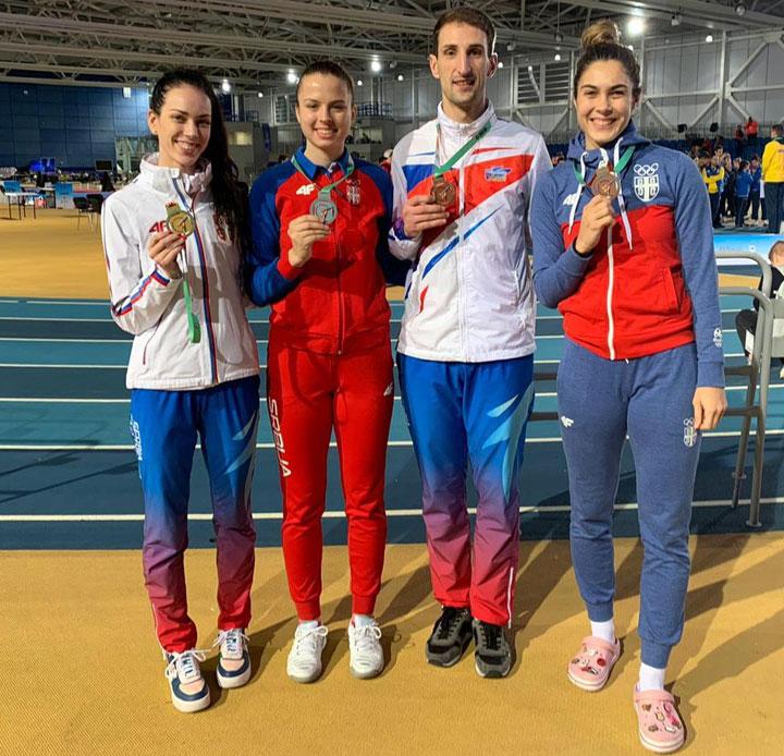 Теквондо клуб Галеб/Српски освајачи медаља у Даблину