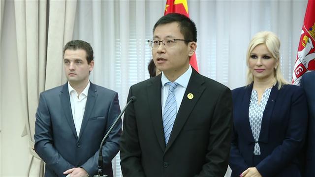 Direktor kompanije Čajna Šandong Internešnl Džang Ćenčao Foto: Tanjug/video
