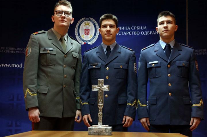Министарство одбране Републике Србије: Браћа Ђорђе, Никола и Алекса Рацковић