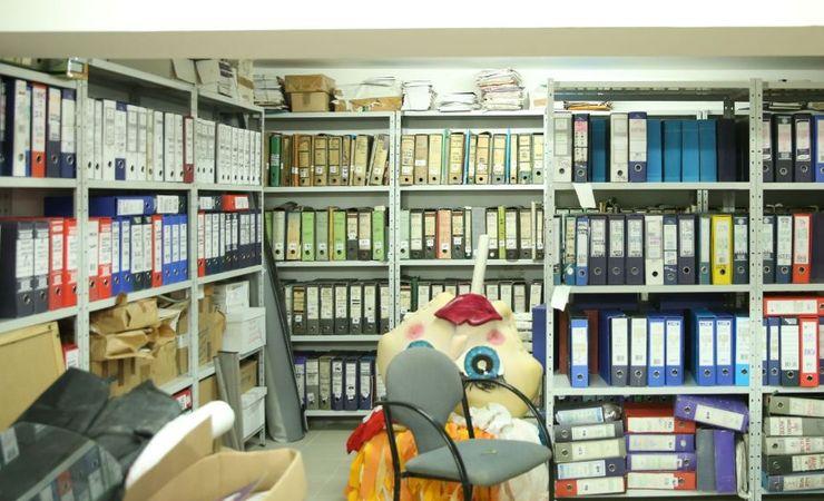 Arhiva KCNS čuva se u zgradi KCNS-a u Katoličkoj porti 5 Foto: Arhiva KCNS-a