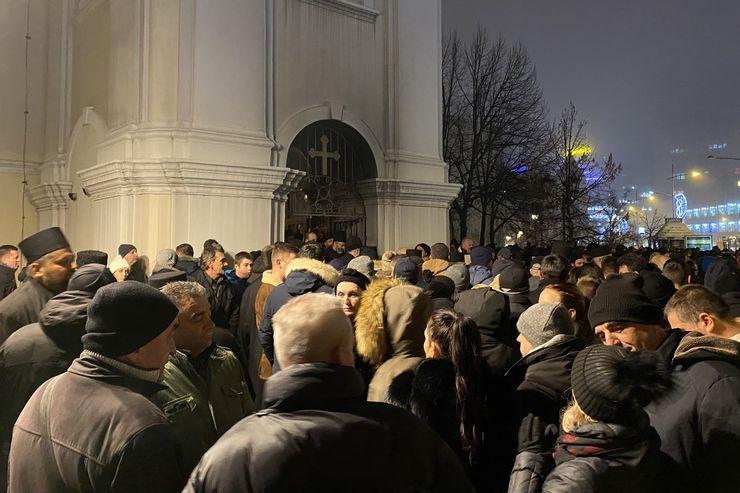 Molitva u Uspenskoj crkvi Foto: J. Vukašinović