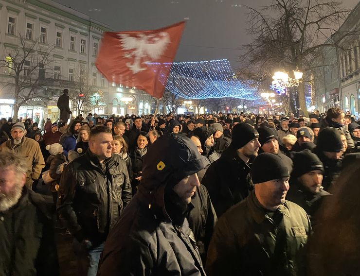 Litija u Zmaj Jovinoj Foto: J. Vukašinović