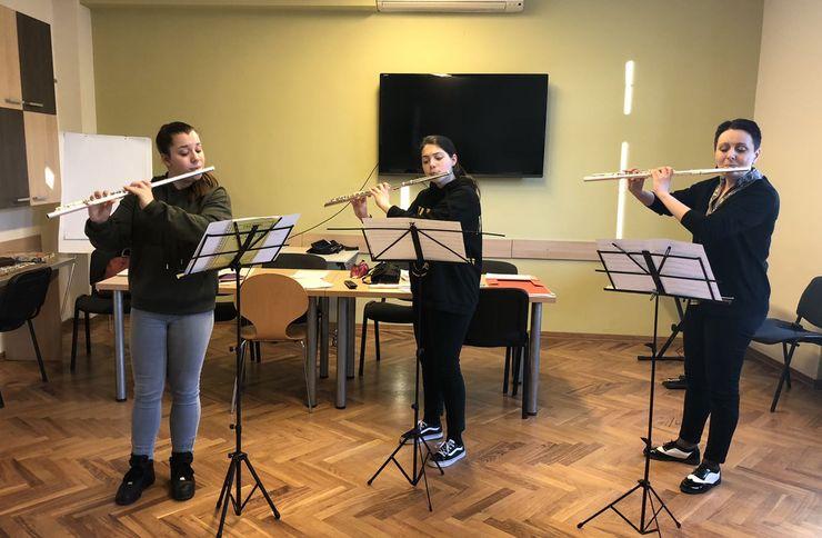 Karlovci domaćin zimske i letnje škole flaute Foto: privatna arhiva