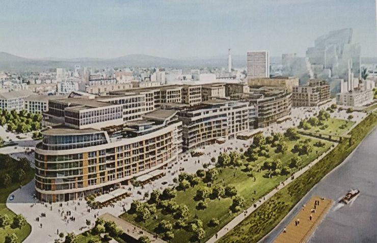 Plan i želja je da se Novi Sad ugleda na gradove, kao što je Bratislava, koji maksimalno koriste obalu Foto: privatna arhiva