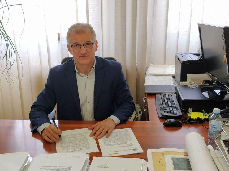 """Direktor """"Urbanizma"""" Dušan Miladinović Foto: Dnevnik.rs"""