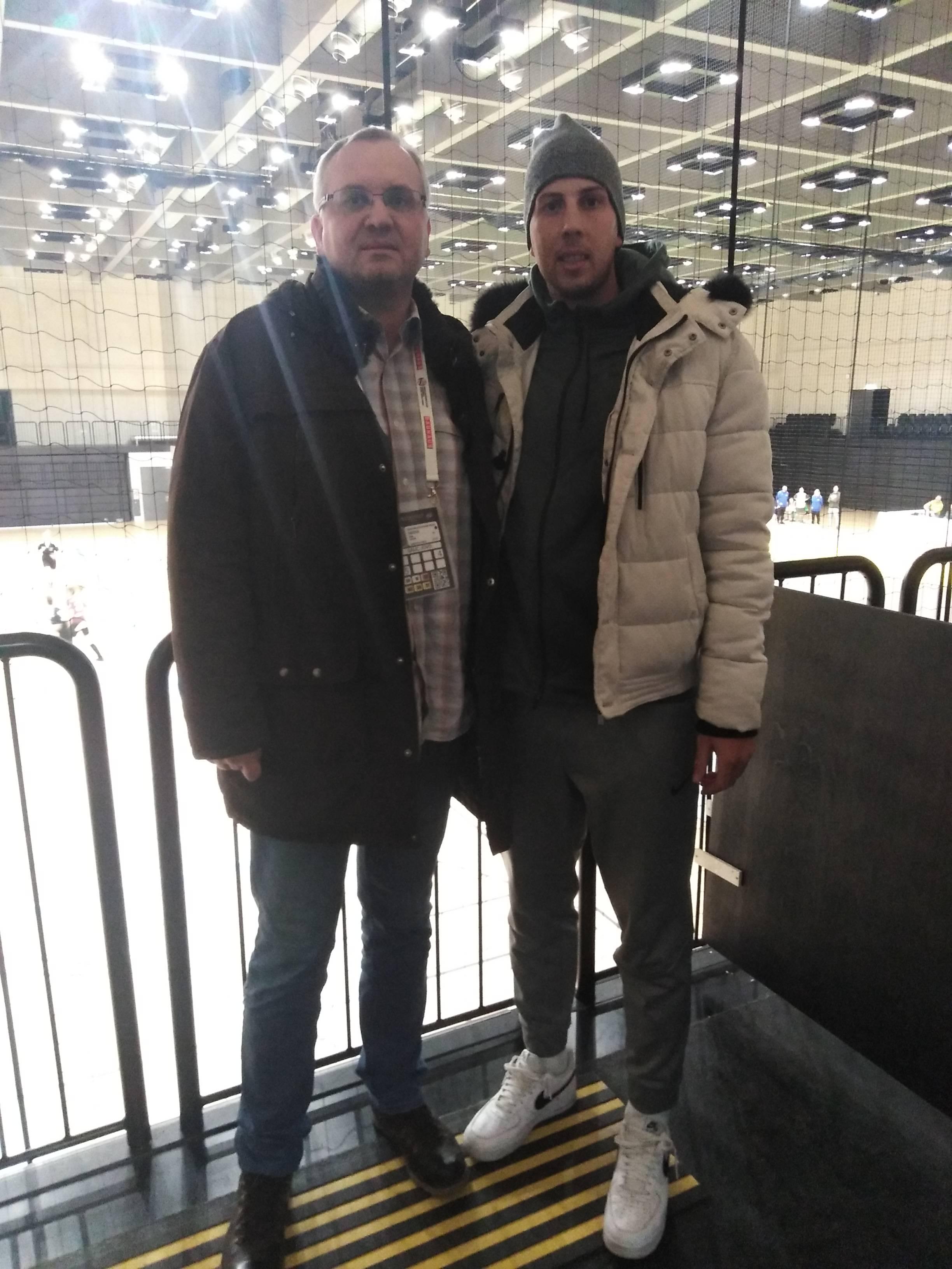 Nemanja Belos i ja