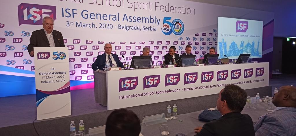 predsednik OKS Maljkovic pozdravio jeprisutne delegate iz celog sveta