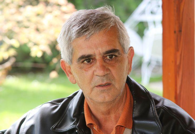 """Potpredsednik udruženja """"Santa Marija"""" Sava Pušić foto: Aleksandar Savanović"""