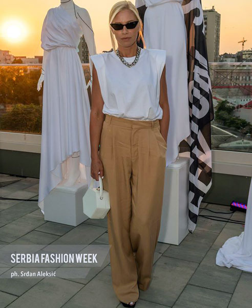 С. Алексић/Кристина Беквалац говорила о модној индустрији у оквиру Српске недеље моде