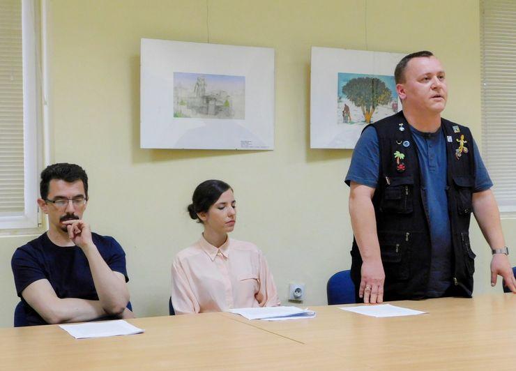 """Žiri za dodelu književne nagrade """"Stevan Sremac"""" Foto: Banatski KC"""