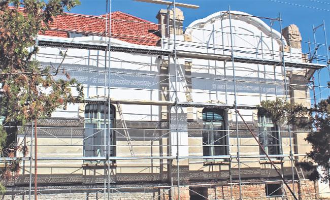 Obnova fasade Foto:Privatna arhiva