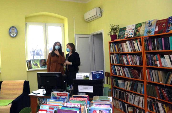 Град Кикинда/Библиотека у Башаиду