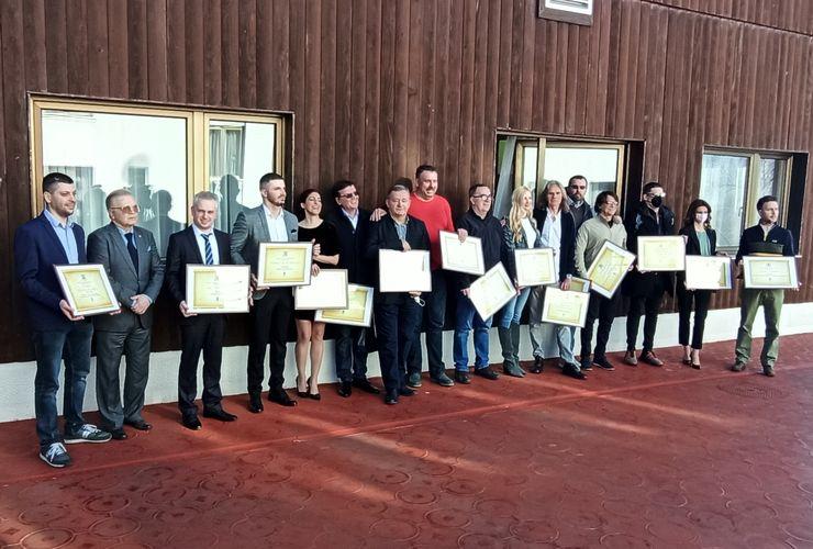 Udruženje sportskih novinara Srbije proglasio sportiste godine i dodelilo priznanje novinarima Foto: J. Galić