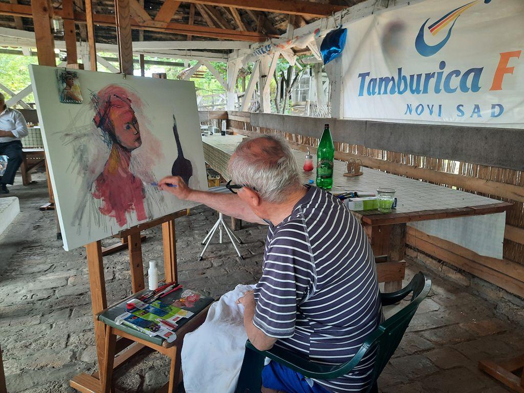 15-5 Likovna kolonija-Tamburica