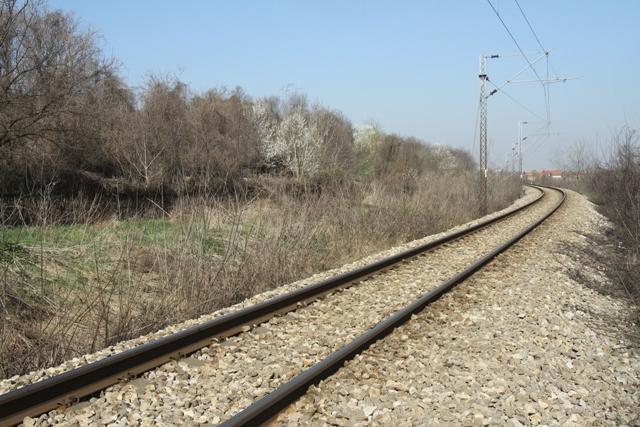 pruga zeleznica