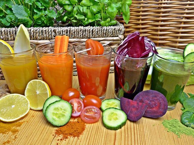 zdrava hrana ilustracija pixabay