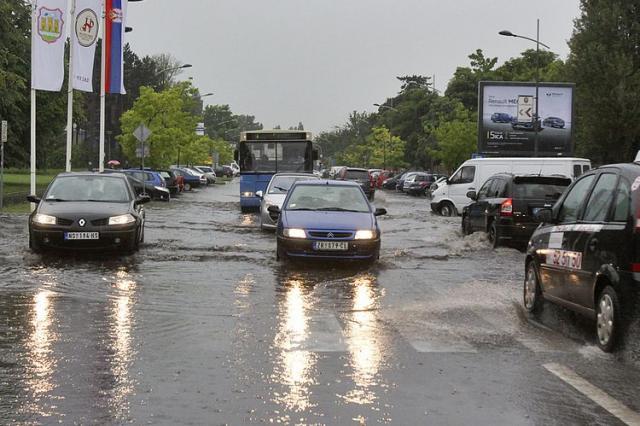 Nevreme u Novom Sadu 4 Foto: F. Bakić