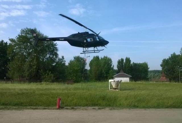 helikopter komarci, Ciklonizacija