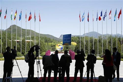 Konf. Pojas i put za međunarodnu saradnju, Kina Foto: Thomas Peter/Pool Photo via AP
