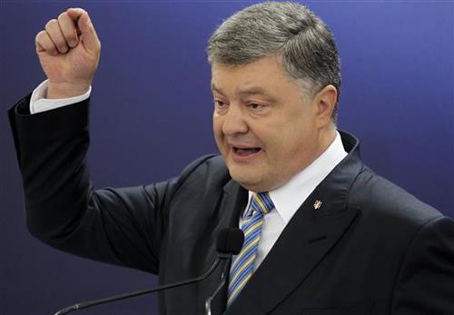 Petre Porošenko  Foto: AP Photo/Sergei Chuzavkov