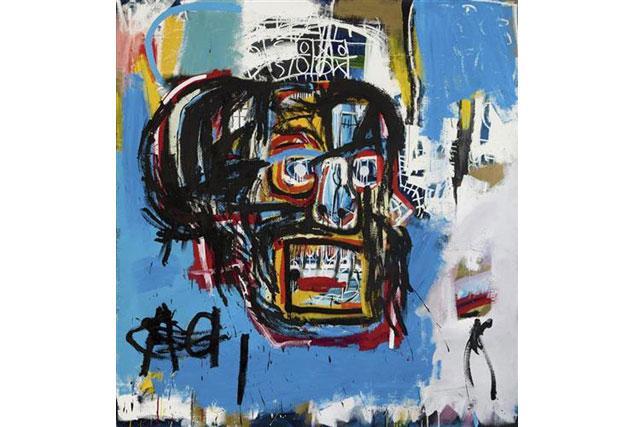 """Baskijatova slika  """"Bez naslova""""  Foto: Sotheby's via AP"""