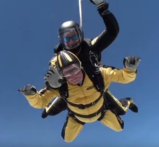 skok padobranom