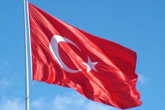Turska zastava  Foto Freeimages.com, ilustracija