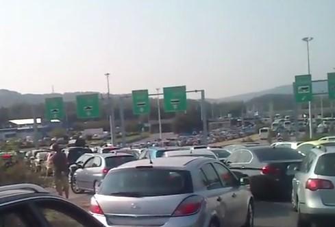 Evzoni, granični prelaz, Grčka Foto: Youtube/printscreen