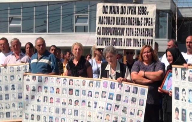 Udruženje porodica kidnapovanih i ubijenih na KiM Foto: arhiv Kim