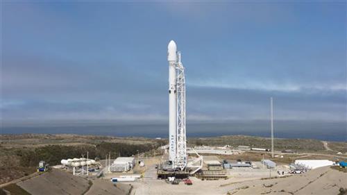 Raketa Foto: SpaceX via AP, ilustracija