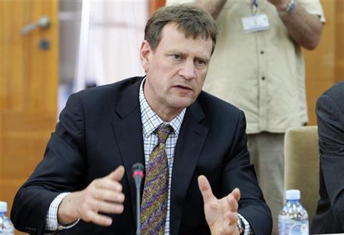 Šef delegacije MMF, Džejms Ruf Foto: Tanjug