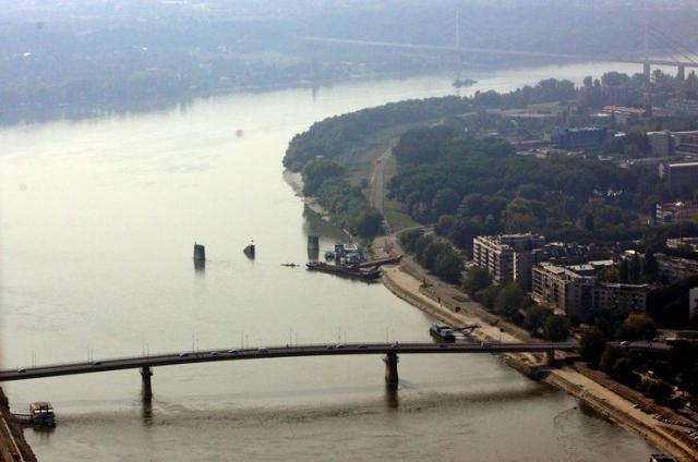 Dunav kod Novog Sada, Foto: Dnevnik/B. Lučić