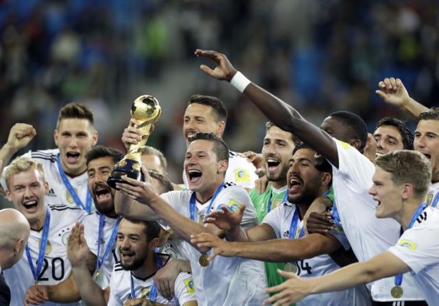 Nemačka pobednik Kupa konfederacija Foto: AP Photo/Thanassis Stavrakis