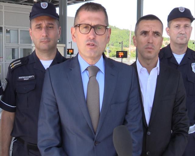 Direktor policije Vladimir Rebić Foto: Tanjug/video