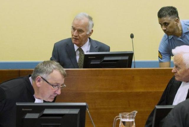 Mladić u Haškom tribunalu foto: youtube/prinscreen