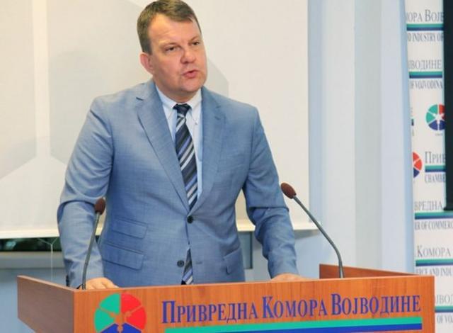Mirović u Privrednoj komori Vojvodine Foto. Dnevnik.rs