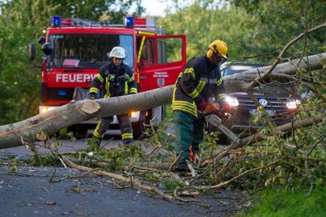 Nevreme u Nemačkoja, oluja Sebastijan Foto: AP Photo