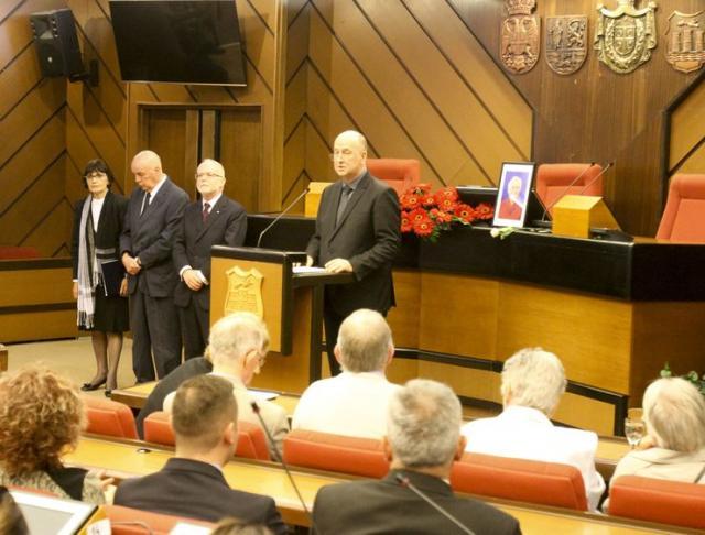 Sa komemoracije Dajani Bekli u Skupštini grada  Foto: R. Hadžić