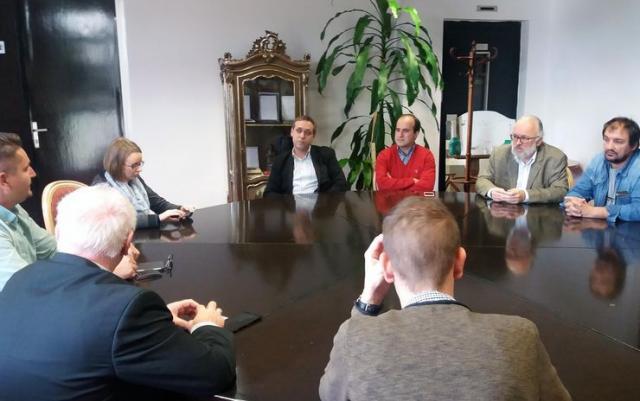 Delegacija  Mađarske državne opere iz Budimpešte u SNP  Foto: SNP